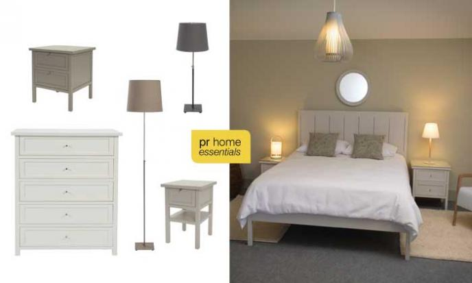 Pr Home Essentials - Long Island Bedroom Range & Baltic Lamps
