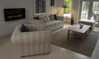 Brooklyn Stripe Sofa