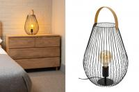 Cage large table lamp