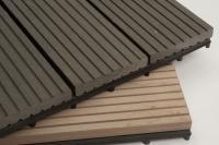 Polyresin Decking Tile - Grey