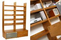 Flexi Shelving - Teak