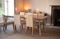 Helsinki Dining Chair - Natural with Marseille Table