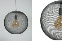 Kew Globe Pendant Lamp - Dark Grey