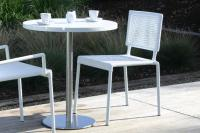 Lido Outdoor Dining Chair - White