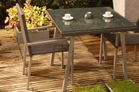 Montreux Square Table - Slate