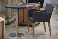 Savoy Outdoor Dining Armchair - Slate