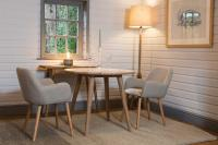 Shoreditch Round Dining Table - Ø90cm