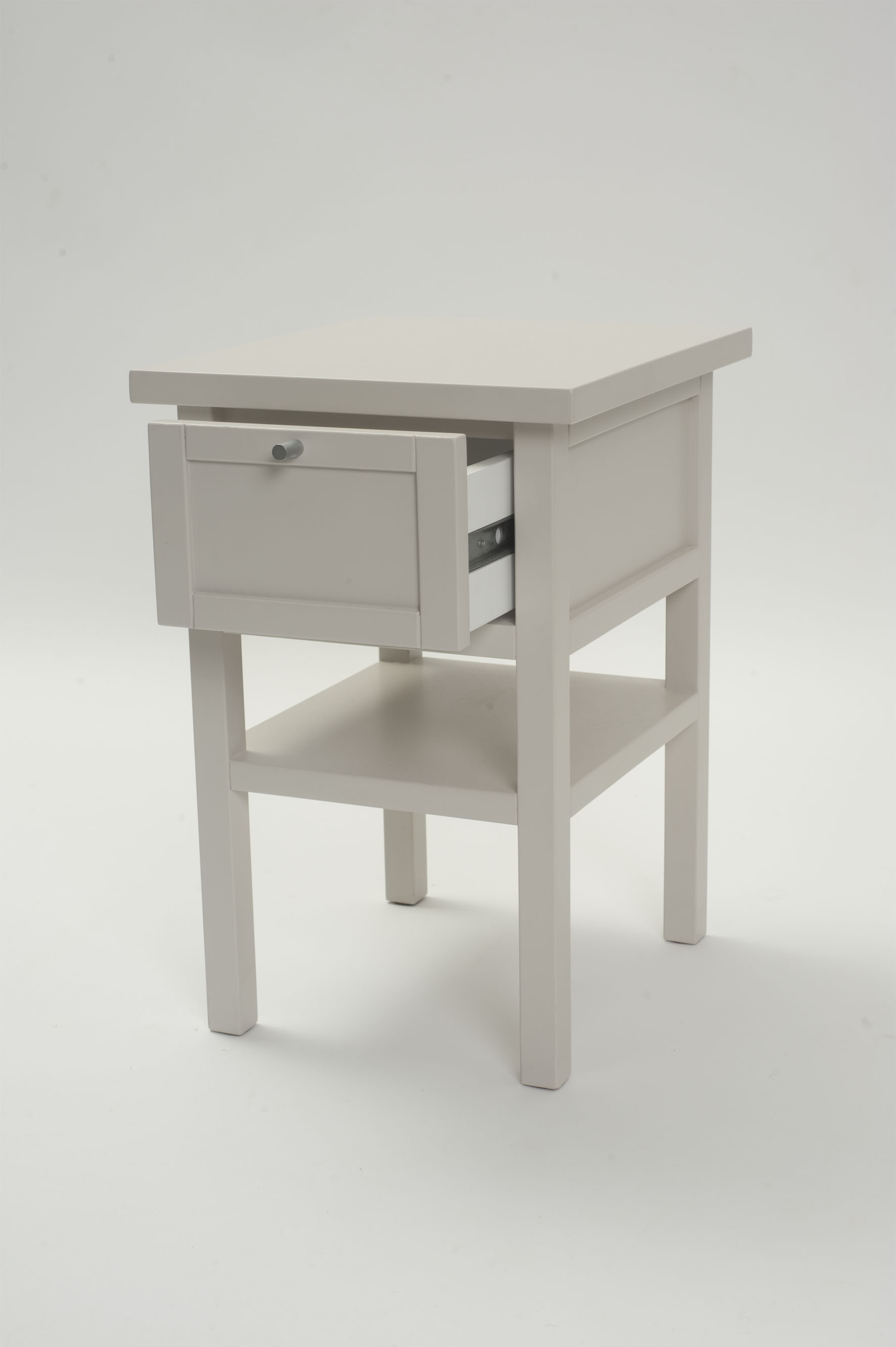 Long island small bedside table chalk or putty pr home