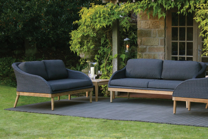 large outdoor sofa. Black Bedroom Furniture Sets. Home Design Ideas