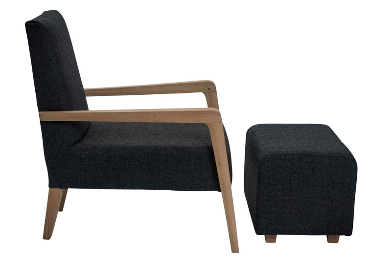 Hoxton Upholstered Footstool Pr Home