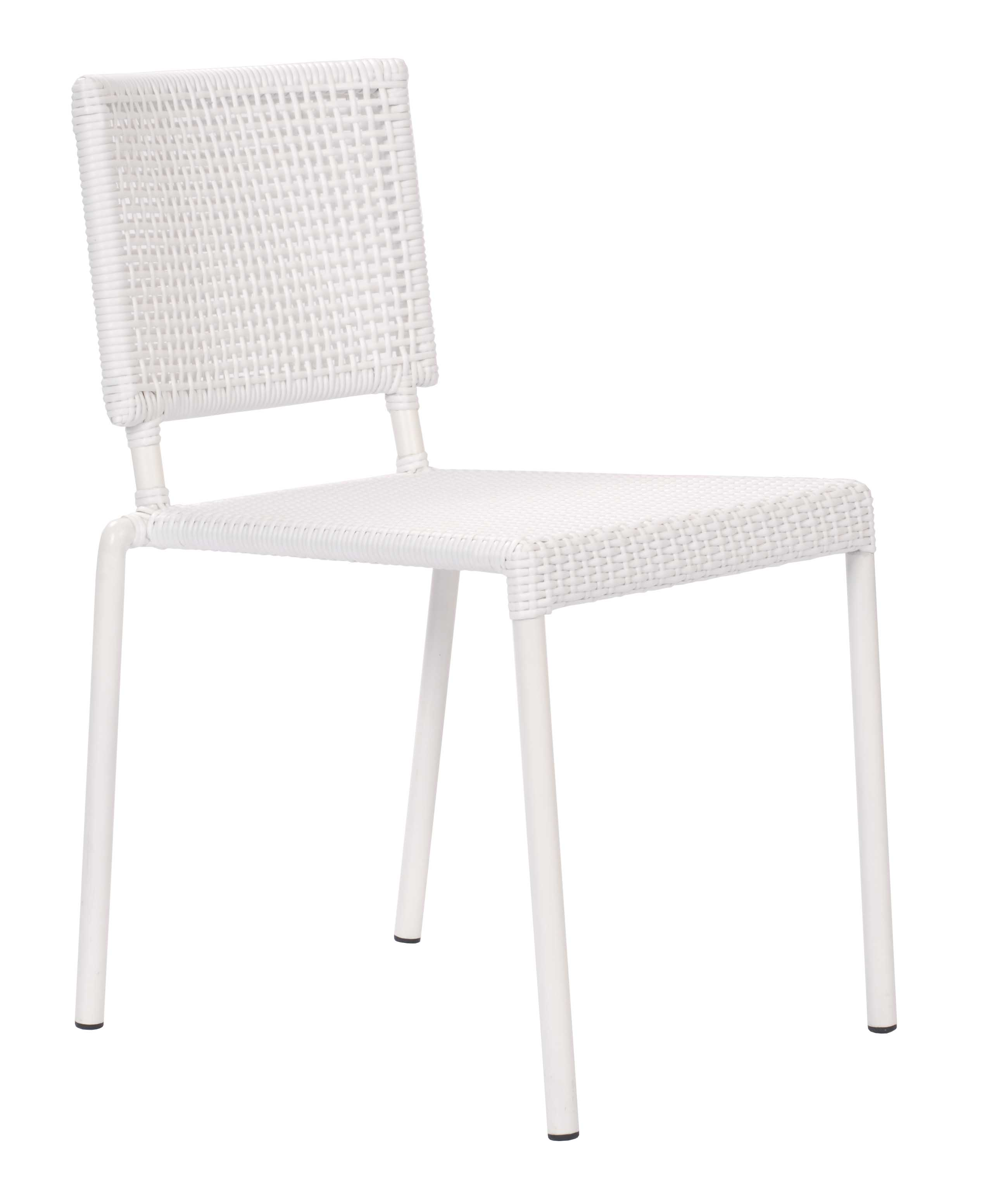 Lido Outdoor Dining Chair White