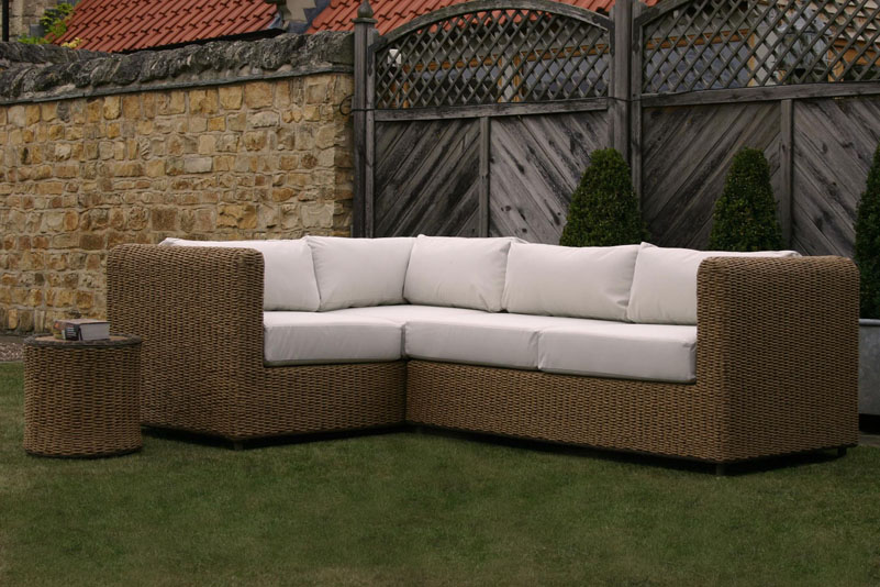 Malibu outdoor double unit left pr home for Malibu outdoor sectional sofa