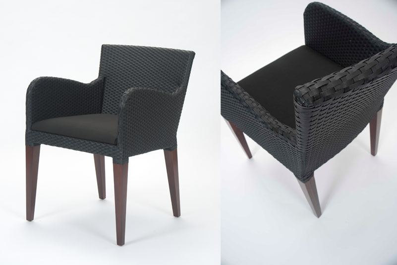 savoy dining chair black leather look pr home. Black Bedroom Furniture Sets. Home Design Ideas