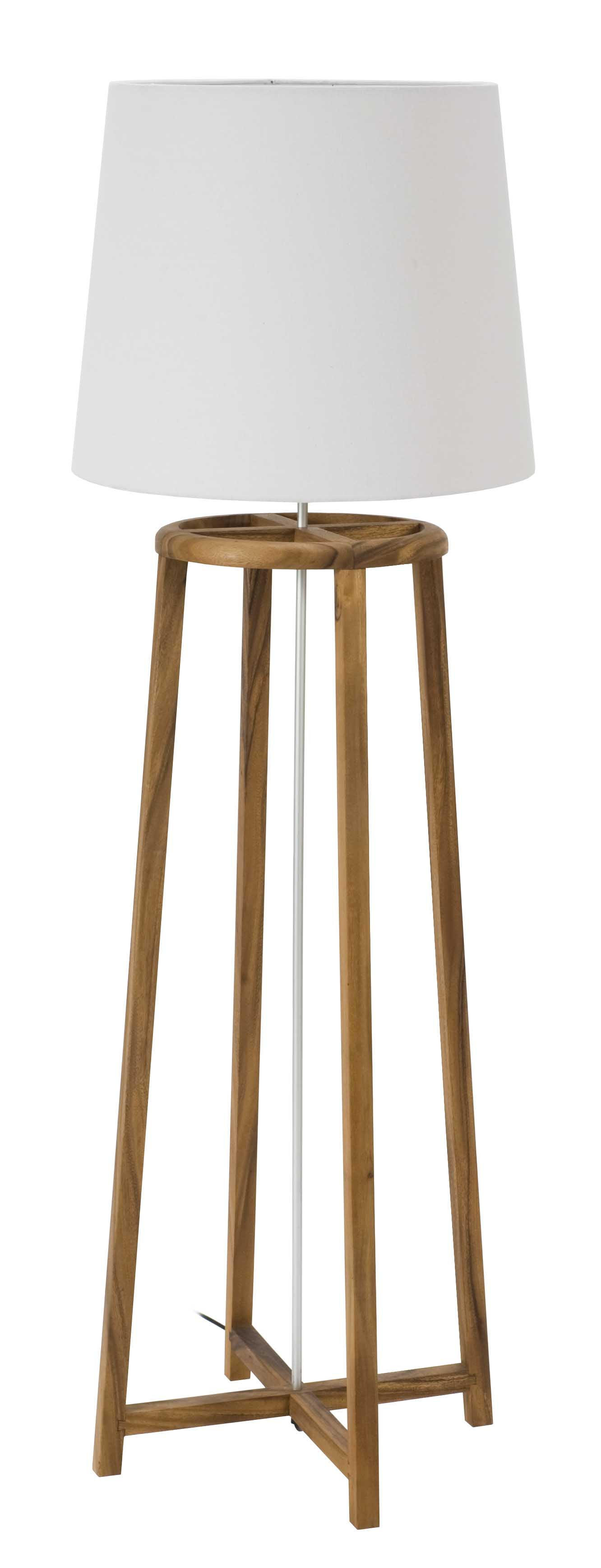 Conical 5545cm lamp shade pr home 5545cm lamp shade tower floor lamp coffee natural white aloadofball Choice Image