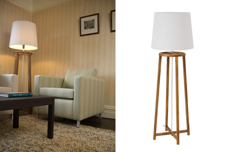 Tower floor lamp natural pr home tower floor lamp natural aloadofball Image collections