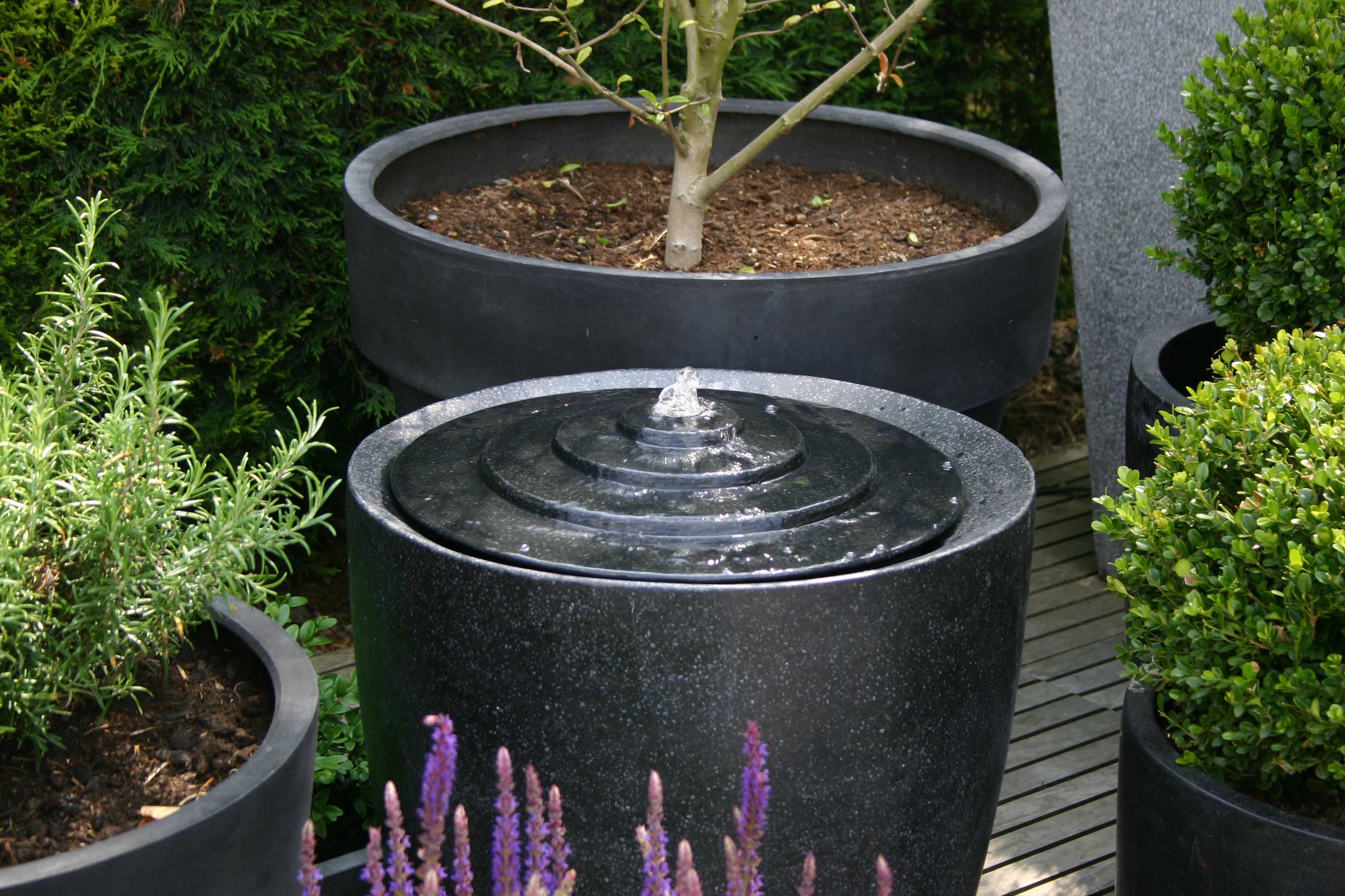 Cone Water Feature | pr home